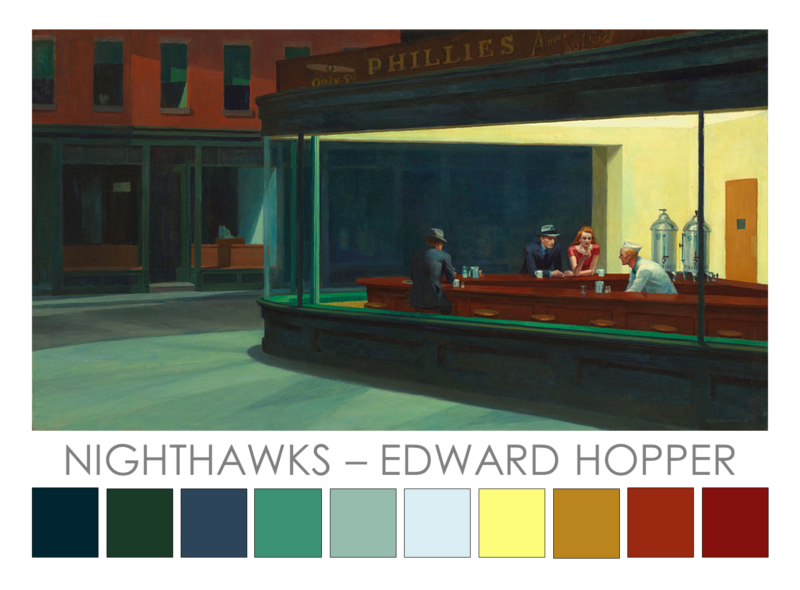 Hopper-Nighthawks-1942 Zena O'Connor